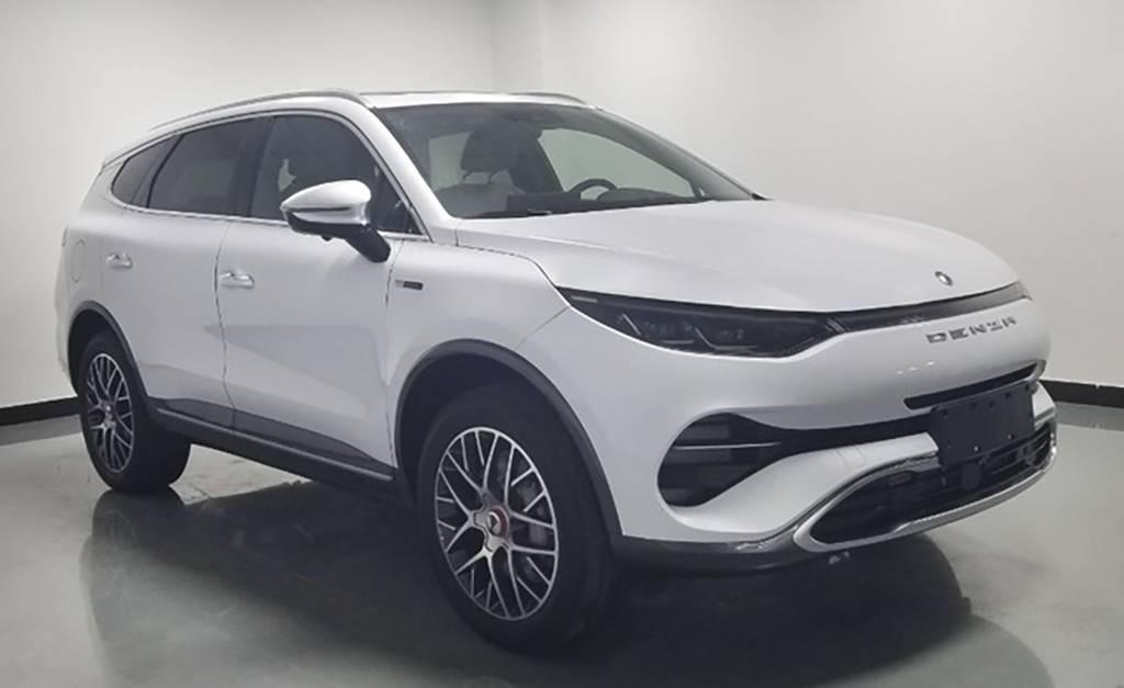 腾势最新量产SUV ——腾势X申报图曝光