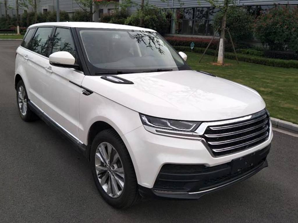 全新品牌 汉龙汽车全新SUV申报图曝光