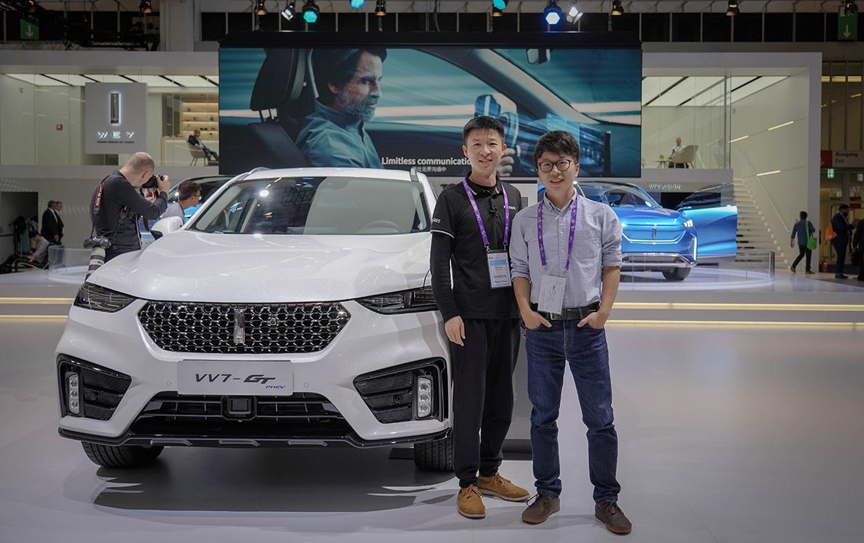 法兰克福PHEV车型横评:中国WEY 靠什么挑战奔驰与宝马?