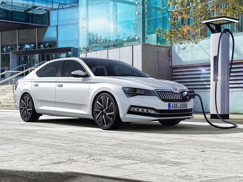 斯柯达首款插电混动车型速派iV已开始量产