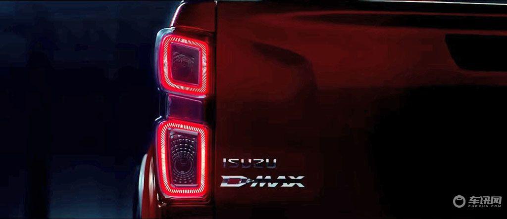 变得更加精致,五十铃发布了全新D-MAX的预告图