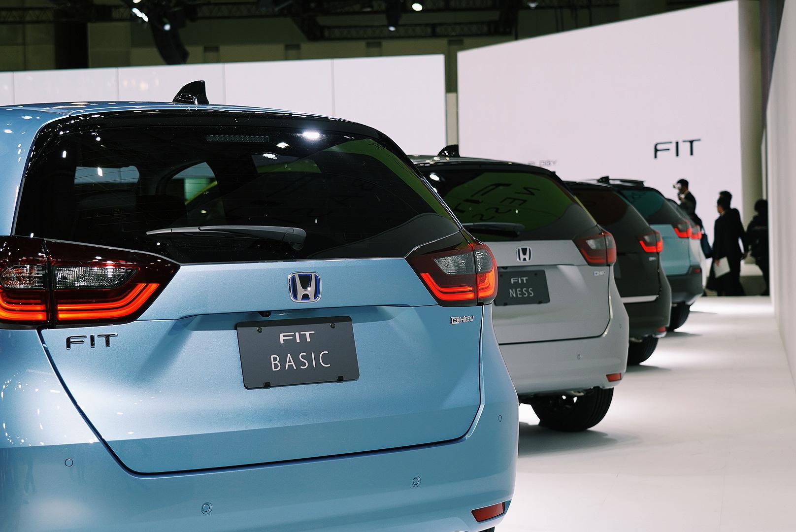 """新""""FIT""""领Honda""""海陆空三军""""登陆东京车展"""