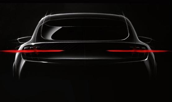 福特旗下发布了全新纯电SUV的官图