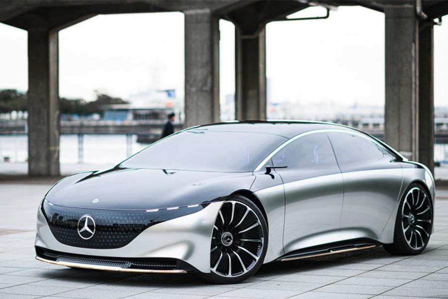 奔驰Vision EQS概念车将于11月22日国内首秀