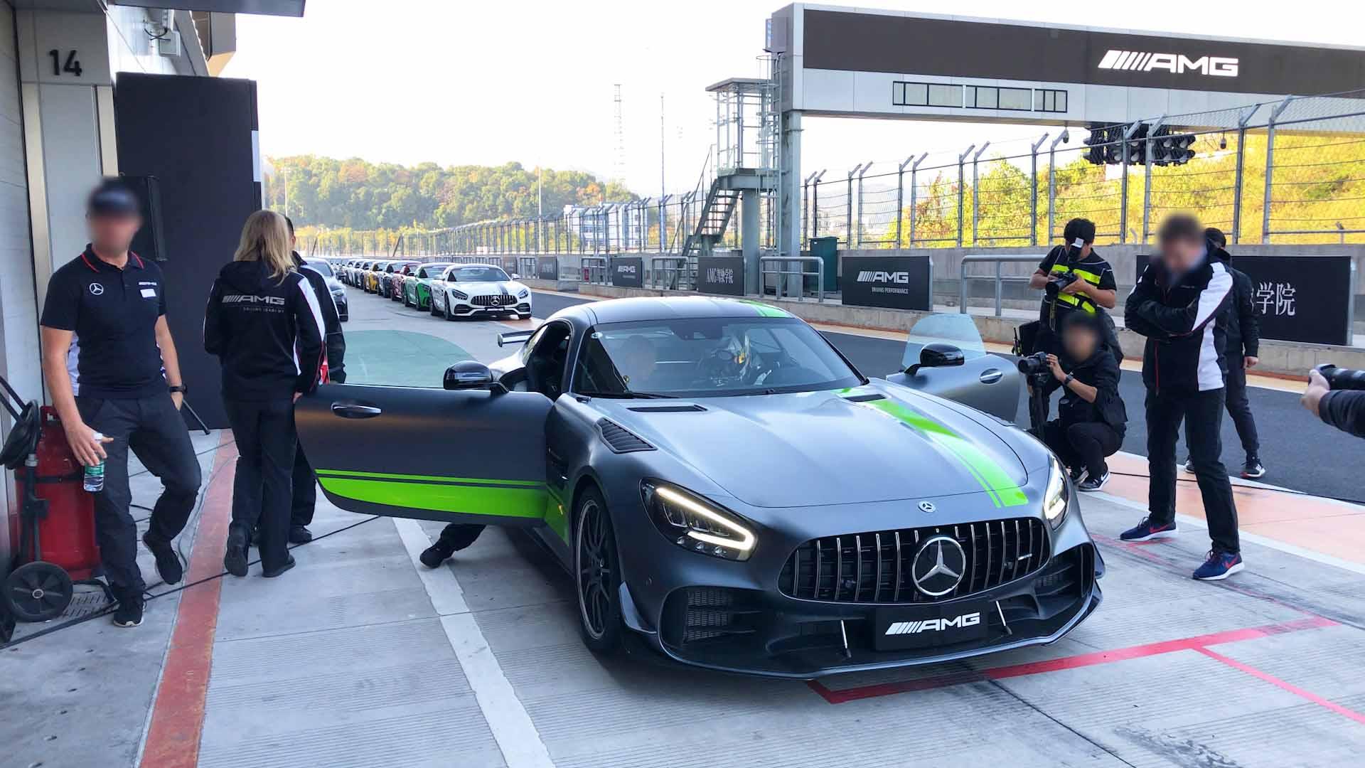 纯粹的驾驶机器?AMG驾驶学院赛道体验