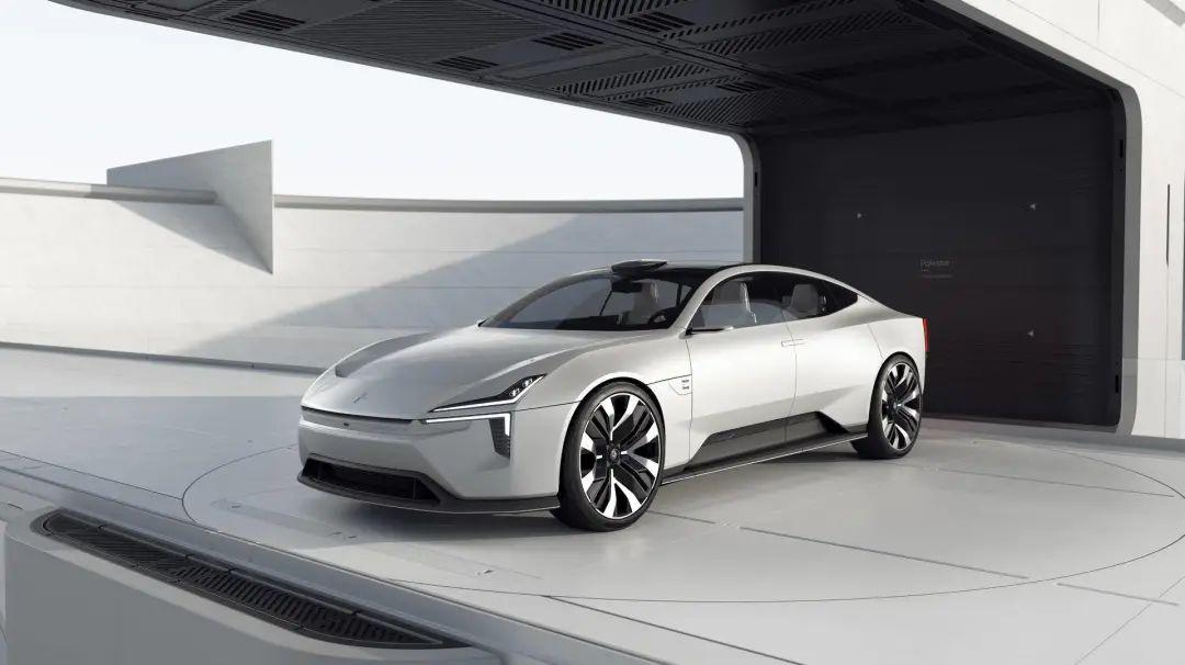 極星發布純電動4門GT轎車,氣質不輸保時捷,這就是未來?