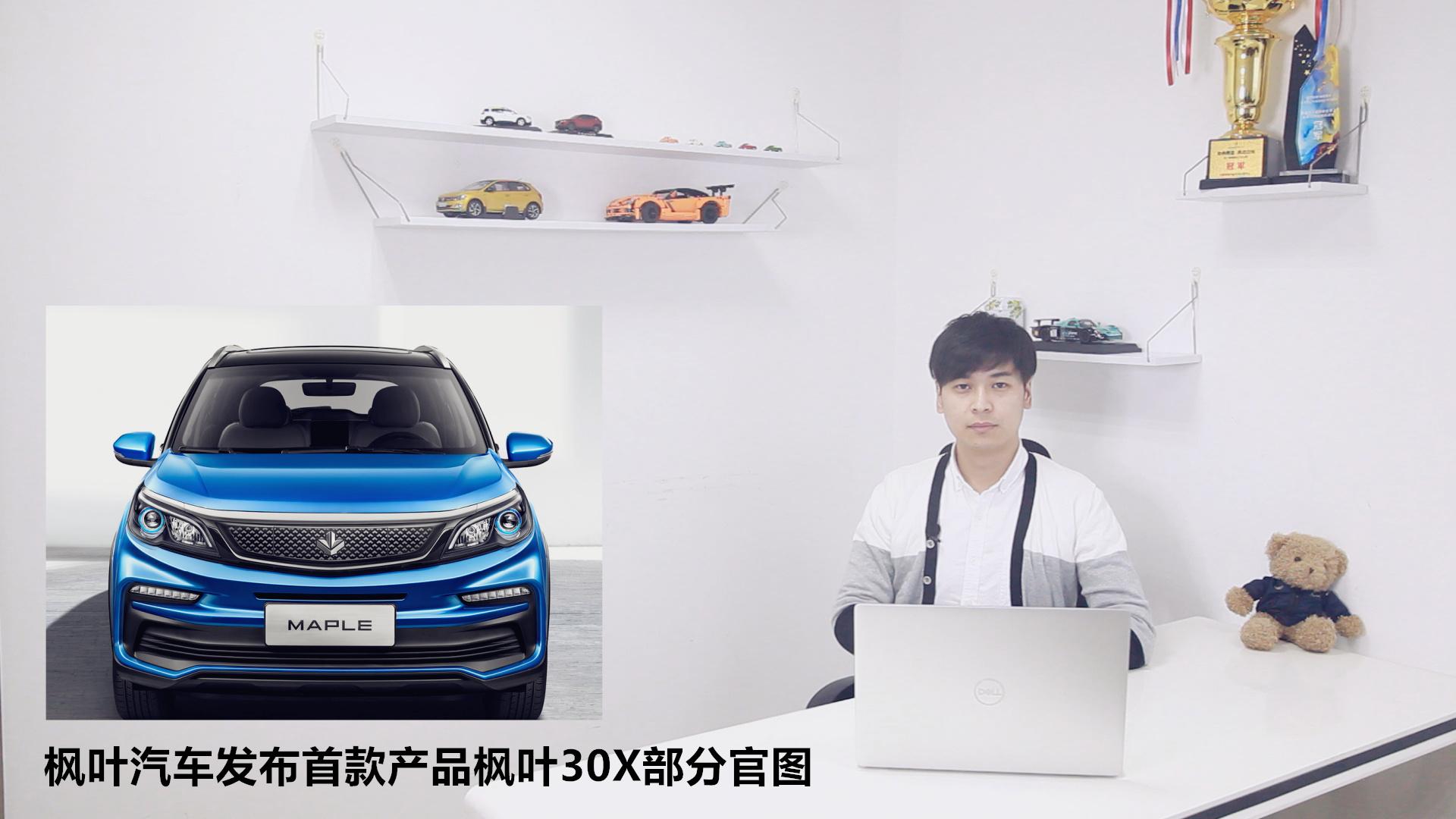 枫叶汽车发布首款产品枫叶30X部分官图