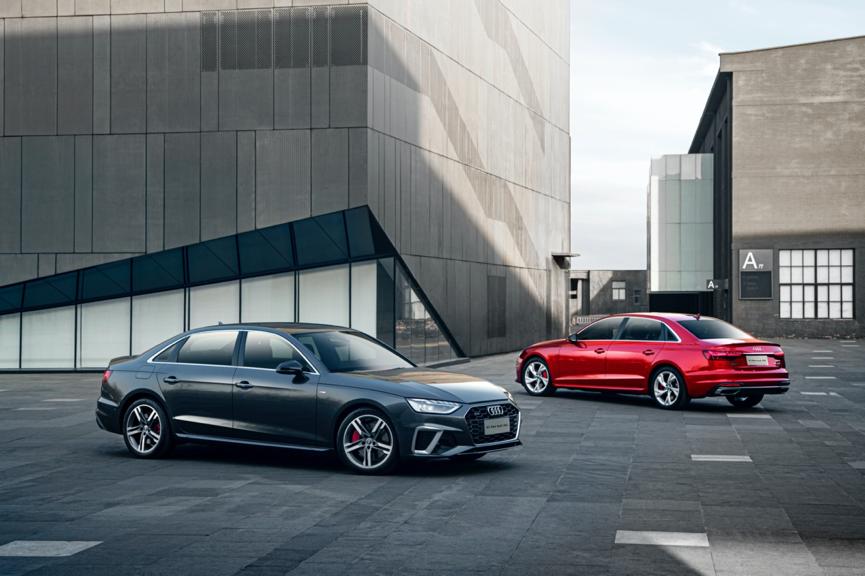 奥迪新款A4L亮点抢先看,RS同款外观套件,标配12V轻混系统