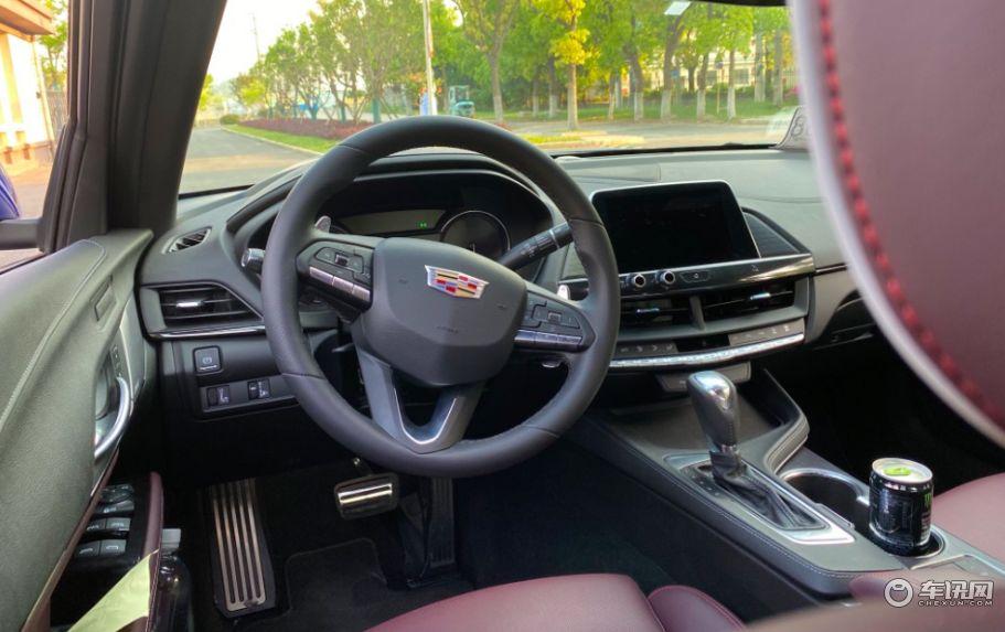 一部纯粹的驾驶者之车,凯迪拉克CT4上海佘山试驾记