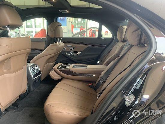 20款奔驰S450现车价格港口六月最低价格销售