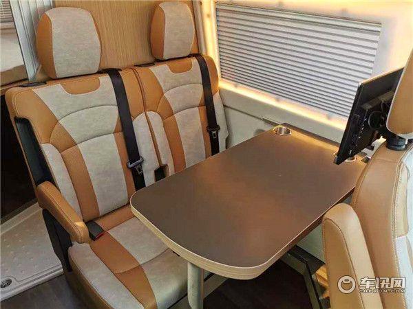 新款瑞弗启界R500新全顺B型房车 豪华商旅两用房车