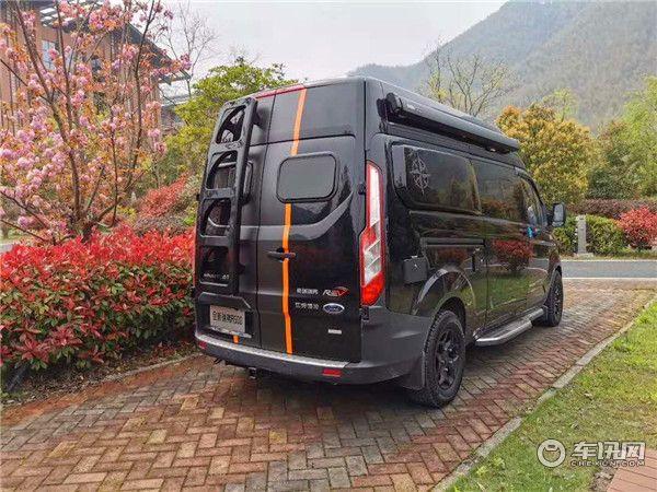新款瑞弗启界R500新全顺B型房车 奢华商旅两用房车