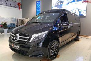 21款奔驰V260L改装高顶七座商务车,星空顶奢侈定制款