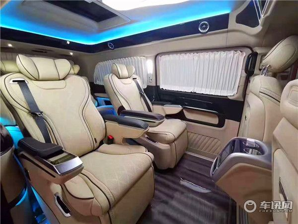 新款奔驰V260L改装商务车,威享系列展厅现车