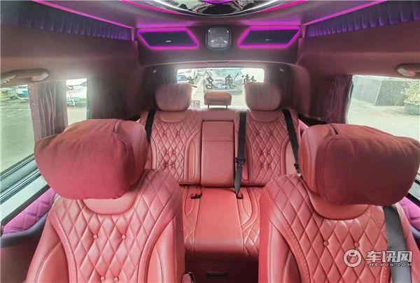 奔驰威霆改装高顶巴赫VS980,宾利红顶级奢华设计