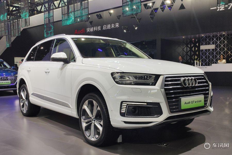 2019廣州車展:奧迪Q7 e-tron亮相