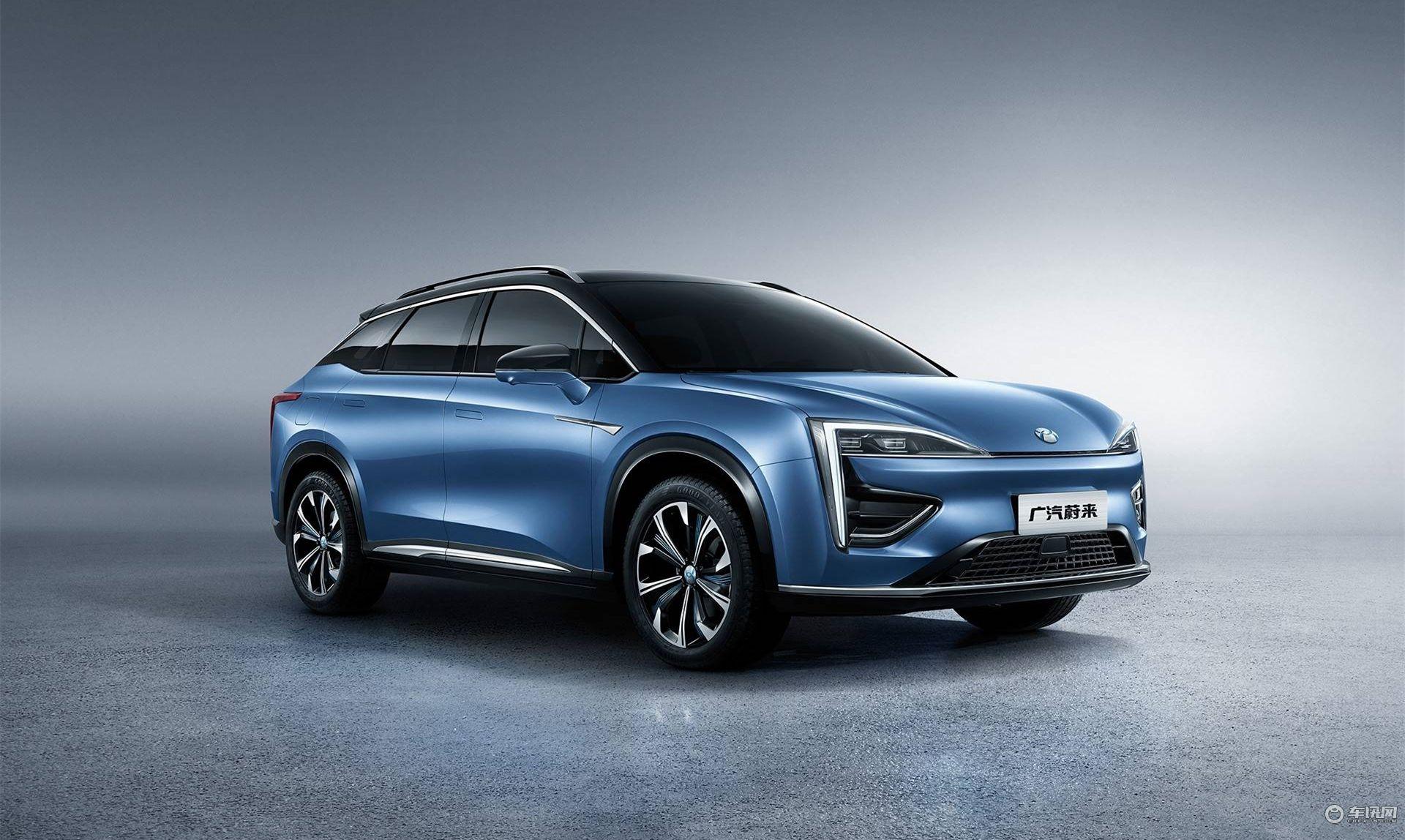 NEDC续航650km 广汽蔚来首款车型将于12月27日发布