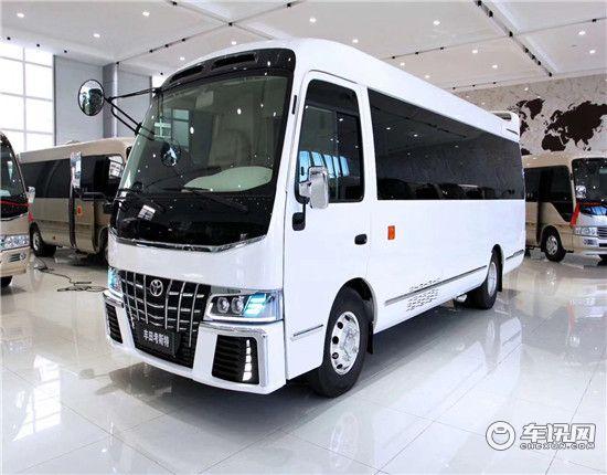 丰田考斯特12座9座价格 4.0六缸中巴车北京