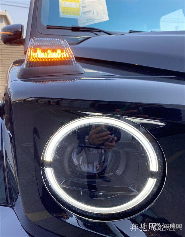 2020款奔驰G500暗夜特别版现车细节实拍