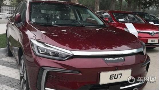 北汽EU7能成为新能源汽车爆款车型吗?