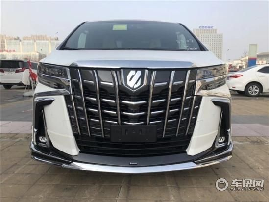 新款丰田埃尔法改装四座商务车霸气无双