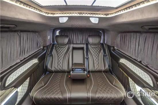 新款奔驰威霆改装迈巴赫高顶七座商务车报价