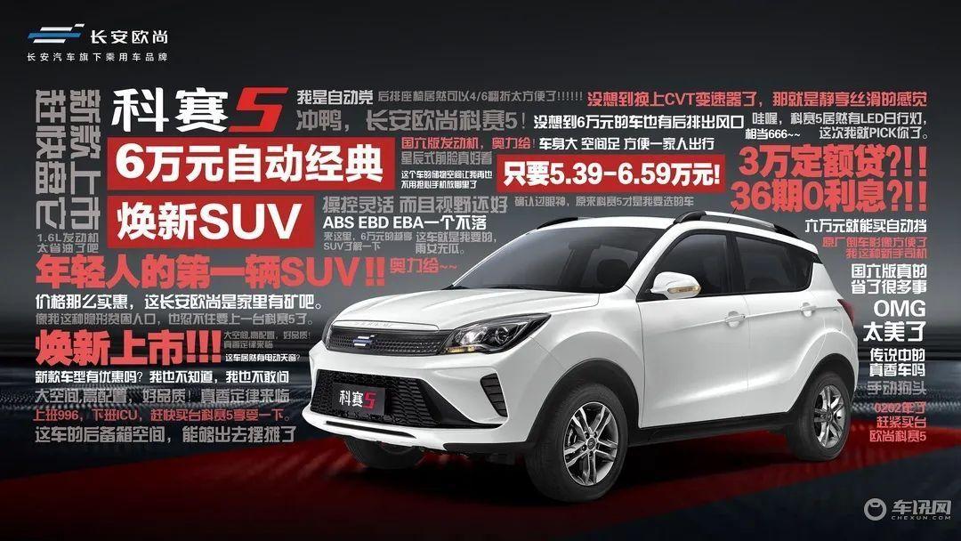 这一届年轻人有福了 首付2.99万就能买到小型自动挡SUV
