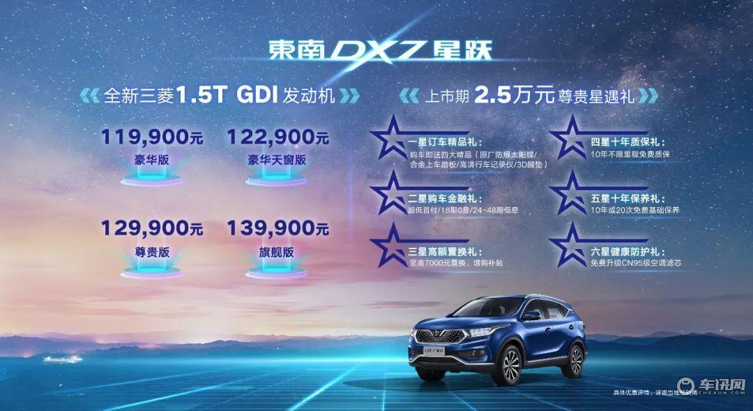 征战紧凑型SUV市场 实力干将DX7星跃上线