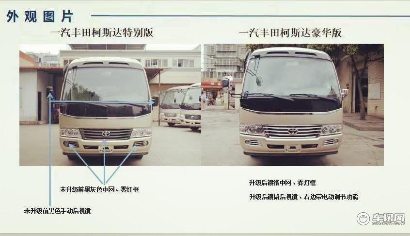 南京丰田考斯特价格 12座改装现车南京店报价