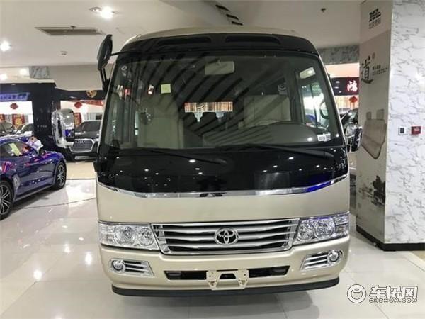 丰田考斯特10座商务车.丰田考斯特10座价格