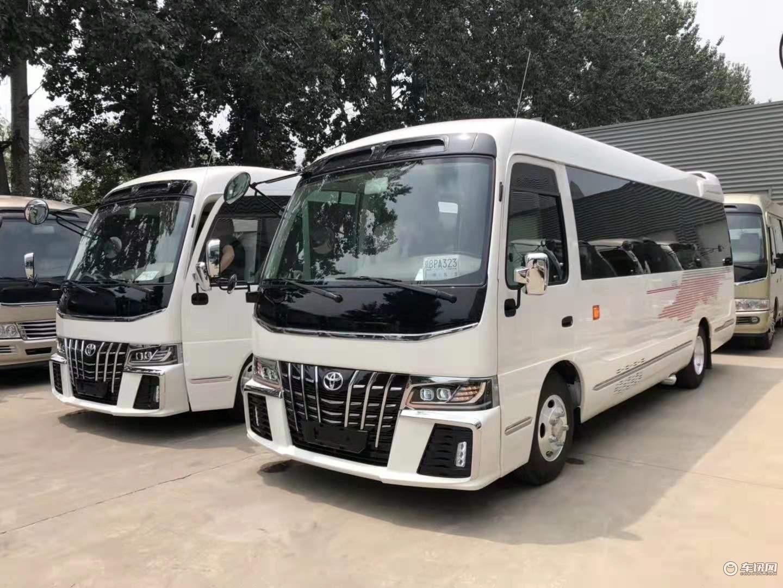 丰田考斯特商务车改装款式 丰田考斯特改装厂