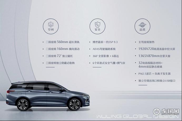 30万级别车型超高配置,五菱凯捷高配车型配置曝光