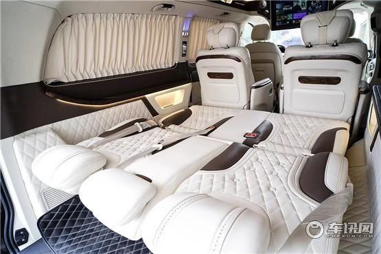 奔驰V260L高顶7座商务车 奔驰V260买它 全新升级