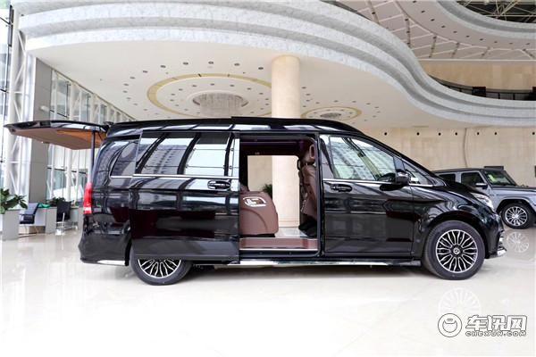 2020款奔驰V260L高顶版无隔断通仓 7座mpv商务车