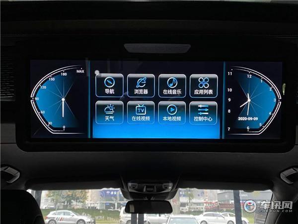 2020新款奔驰V260L高顶商务车金冠奔驰七座无隔断